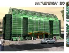 """Бизнес-център """"Шипка"""", гр. София – проект – 2002г."""