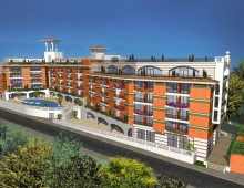 Хотелски комплекс, гр.Несебър – проект 2005-2006г.