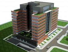 Офис сграда, Клас А – бул. Цариградско шосе – гр.София – 2009г.