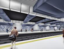 """Конкурс за: Идеен проект на Метростанция №14 – """"Красно село"""" – 01.2015г."""